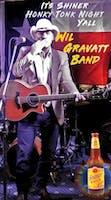 "FREE Show!  ""Shiner Honky Tonk Night"" feat.  Wil Gravatt Band"