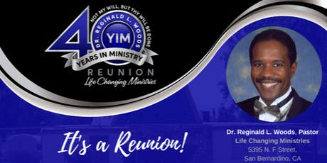 40 Years In Ministry (40YIM) Reunion tickets