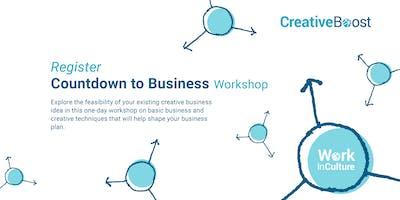 CreativeBoost workshop: Countdown to Business in Brantford