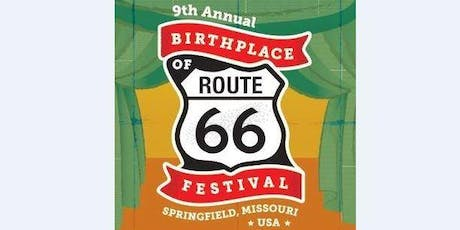 9th Annual Route 66 Car Show & Festival - Springfield MO tickets