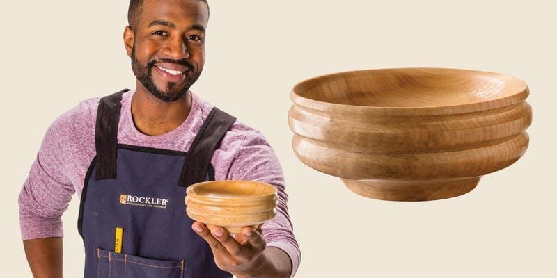 Wooden Bowl Make & Take
