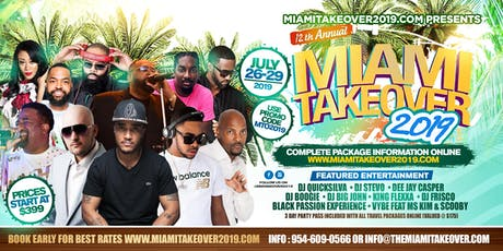12th Annual Miami Takeover tickets