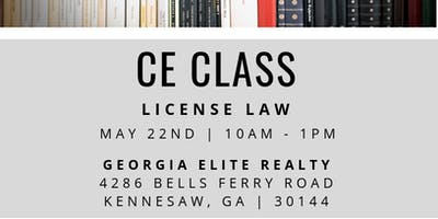 License Law CE Class