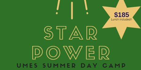 2019 STAR POWER: TV/Movie Production Summer Camp   June 24-28, 2019	 tickets