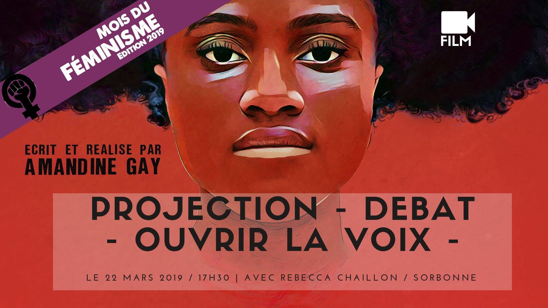 Projection-Débat - Ouvrir la Voix