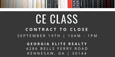 Contract to Close CE Class