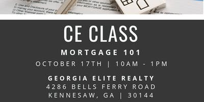 Mortgage 101 CE Class