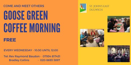 Goose Green Coffee Morning tickets