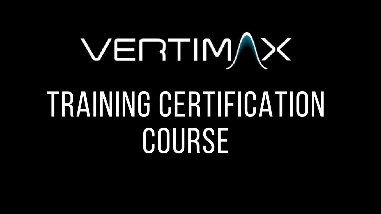 VERTIMAX Training Certification Course - Scottsdale, AZ