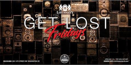 Get Lost Fridays at Lost Society  tickets