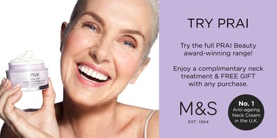 Try Prai at M&S in Bromley!