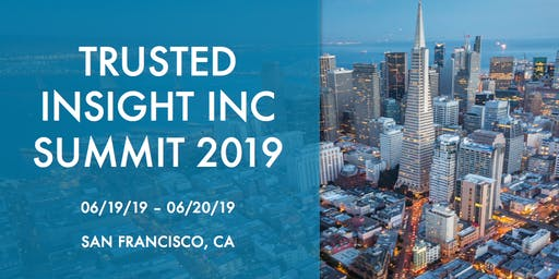 Trusted Insight Summit 2019 | The Future of Asset Management