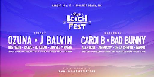 Baja Beach Fest 2019