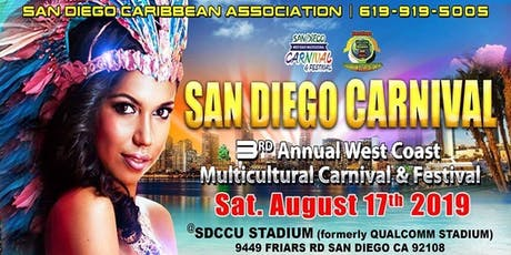 San Diego West Coast Multicultural Carnival & Festival tickets
