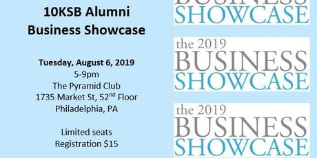10KSB Roundtable, Pyramid Club, August 6, 2019 tickets