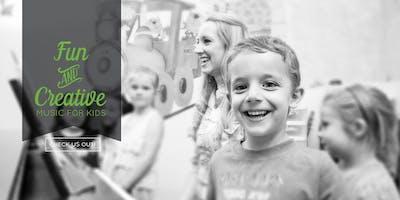 June 22 Free Music Class for Kids (Ventura, CA)