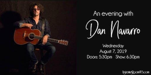 An Evening with Dan Navarro