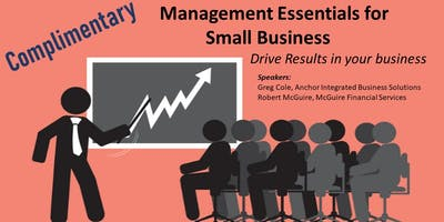 Management Essentials for Small Business