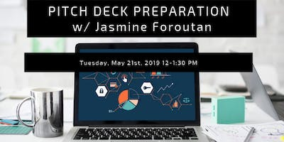 Preccelerator Workshop: Pitch Deck Preparation with Jasmine Foroutan