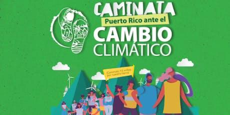 """[Caminata """"Puerto Rico ante el Cambio Climático""""] tickets"""