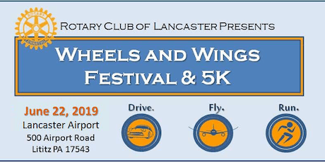 Rotary Wheels & Wings Festival and 5K tickets
