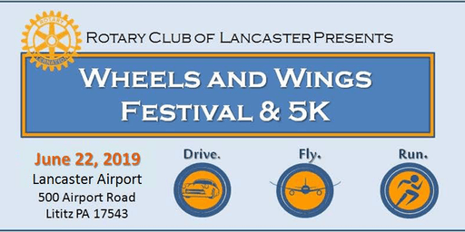 Rotary Wheels & Wings Festival and 5K
