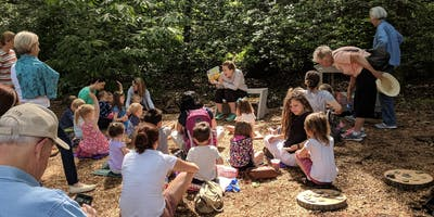 Summertime Stories in the Children's Garden