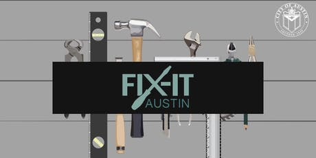 July Fix-It Clinic tickets