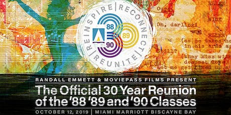 New World School of the Arts 30th Reunion of the Classes 1988, 1989 & 1990 tickets