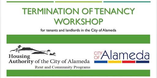 City of Alameda Termination of Tenancy Workshop