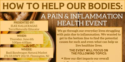 How To Help Our Bodies: A Pain & Inflammation Health Event