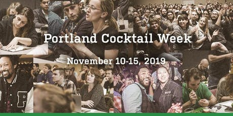 Portland Cocktail Week 2019 billets