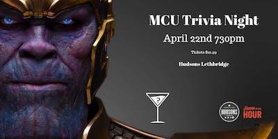 MCU Movie Trivia - April 22nd 730pm Hudsons Lethbridge