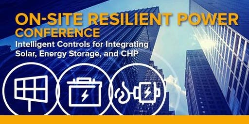 NYSERDA's On-site Resilient Power Conference
