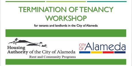 City of Alameda Termination of Tenancy Workshop tickets