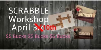 SCRABBLE Tile Workshop - Ol\