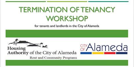 City of Alameda Termination of Tenancy Workshop tickets