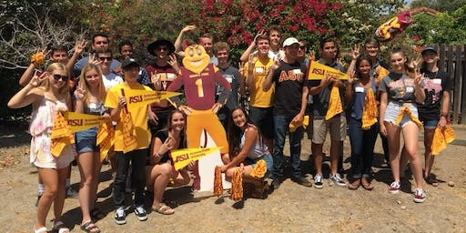 San Diego, CA: ASU Sun Devil Send-Off