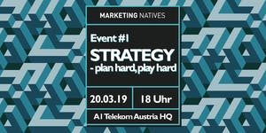 Event #1 Strategy - plan hard, play hard