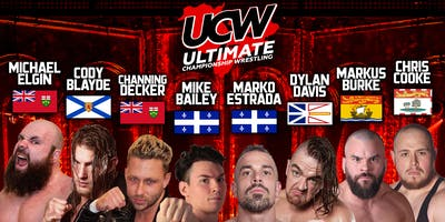 "UCW Presents - The Standing 8 Tournament ""Best in Canada\"""