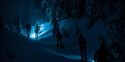 24 Hours of Winter 2019 Midnight Snowshoe Tour