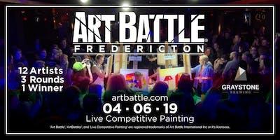 Art Battle Fredericton - April 6, 2019