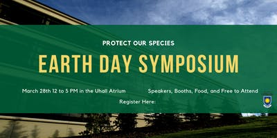 Earth Day Symposium: Protect Our Species