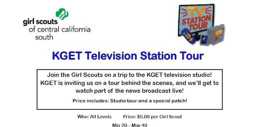 KGET Television Station Tour - Kern