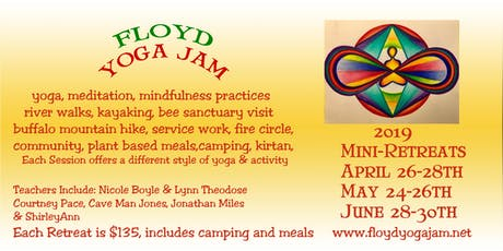 Floyd Yoga Jam Mini-Retreats tickets