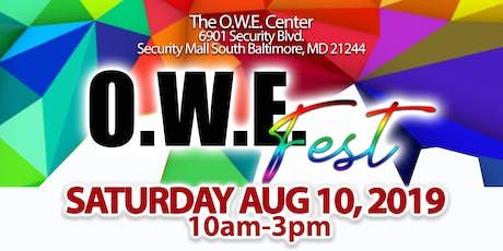 O.W.E Fest 2019 tickets