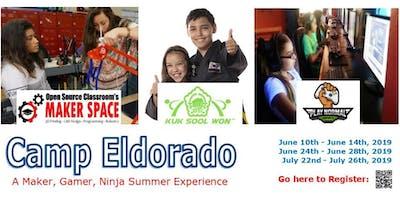 Camp Eldorado - for Makers, Ninjas & Gamers
