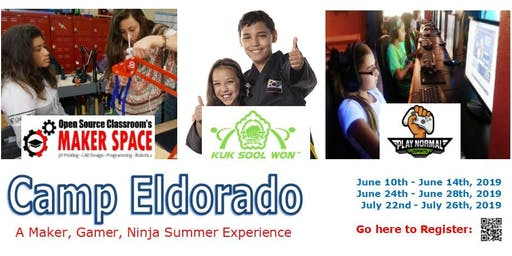 Camp Eldorado - for Makers, Ninjas & Gamers