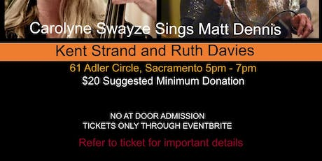 Let's Get Away From It All - The Music of  Matt Dennis tickets