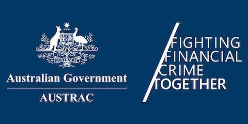 AUSTRAC RegTech Engagement (ARTE) session - Melbourne - Tues 23 July 2019
